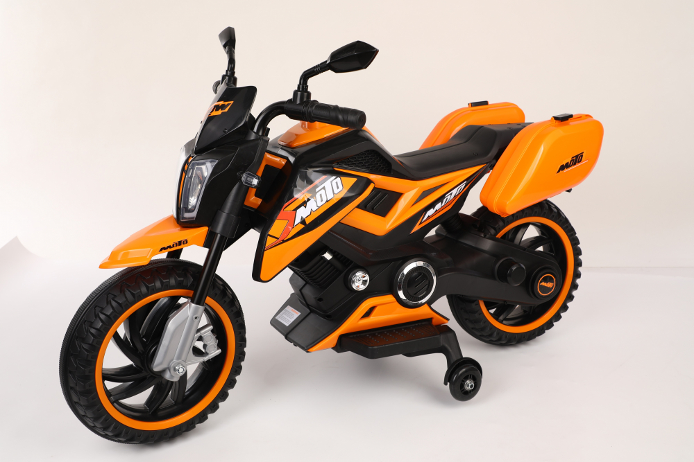 Motocicleta electrica 12V Nichiduta Moto Orange - 5