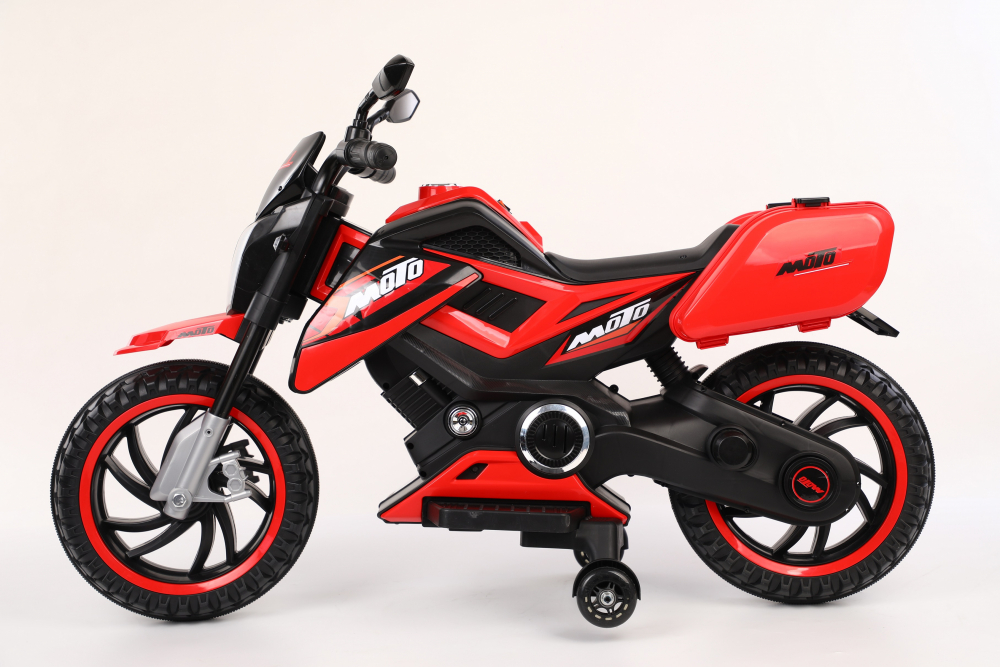 Motocicleta electrica 12V Nichiduta Moto Red - 6