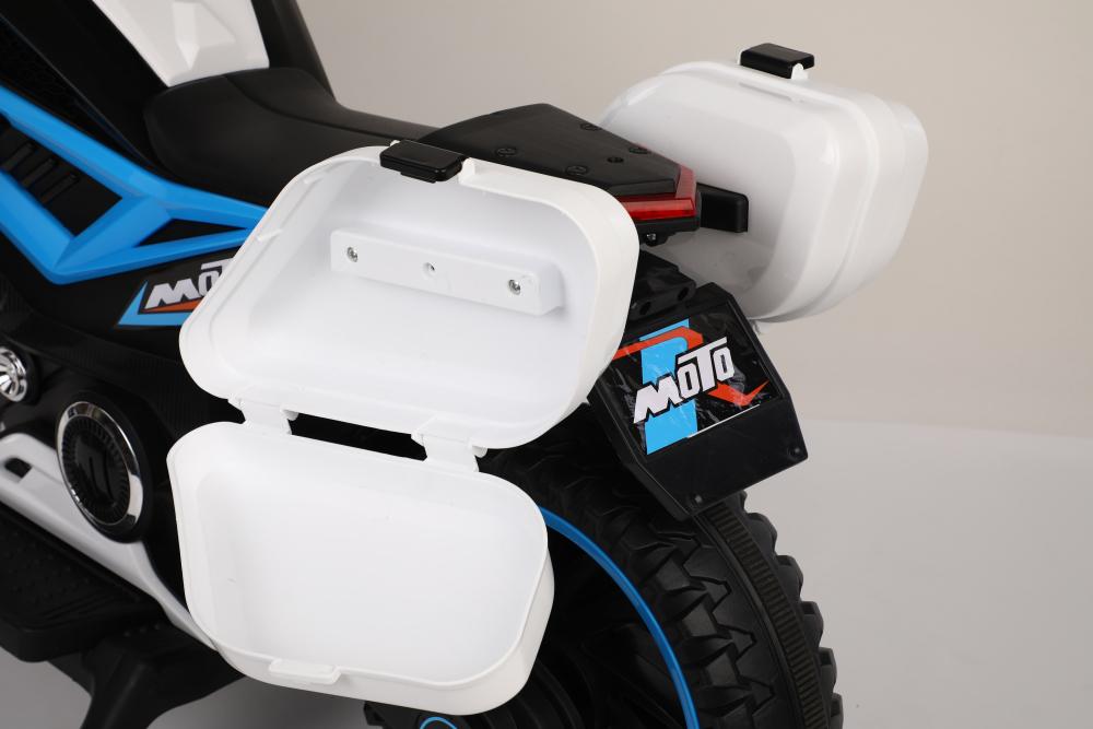 Motocicleta electrica 12V Nichiduta Moto White - 9