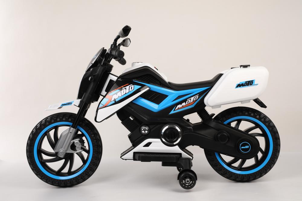 Motocicleta electrica 12V Nichiduta Moto White - 10