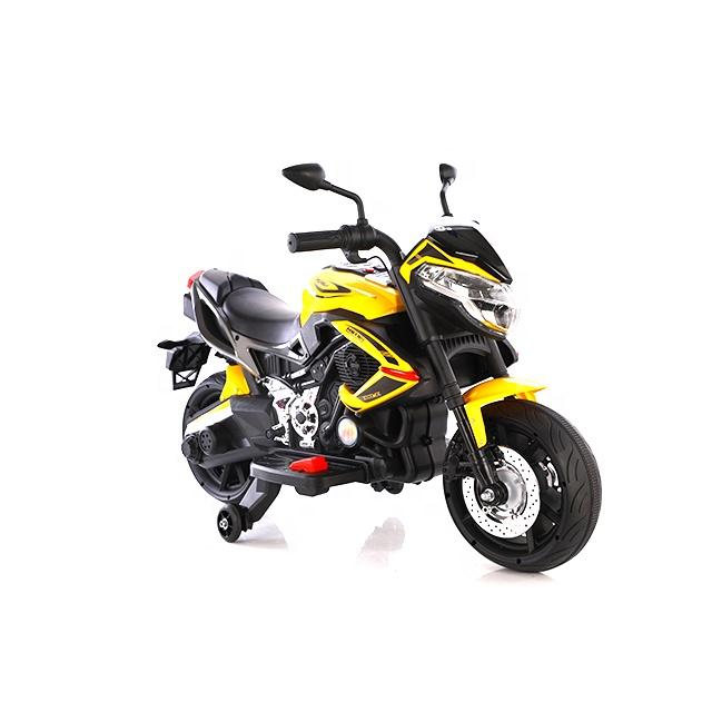 Motocicleta electrica cu doua motoare Nichiduta Moto Speed Yellow
