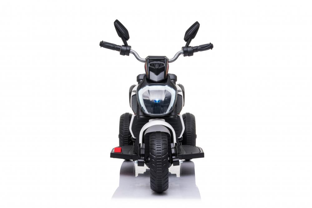 Motocicleta electrica cu lumini Nichiduta Kids Racing White - 1