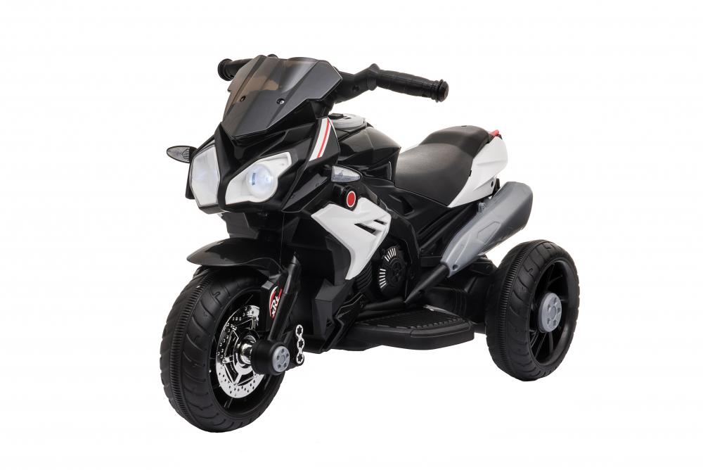 Motocicleta electrica cu roti din cauciuc EVA Nichiduta Champ Black - 6
