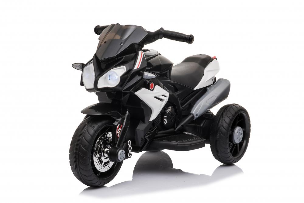 Motocicleta electrica cu roti din cauciuc EVA Nichiduta Champ Black