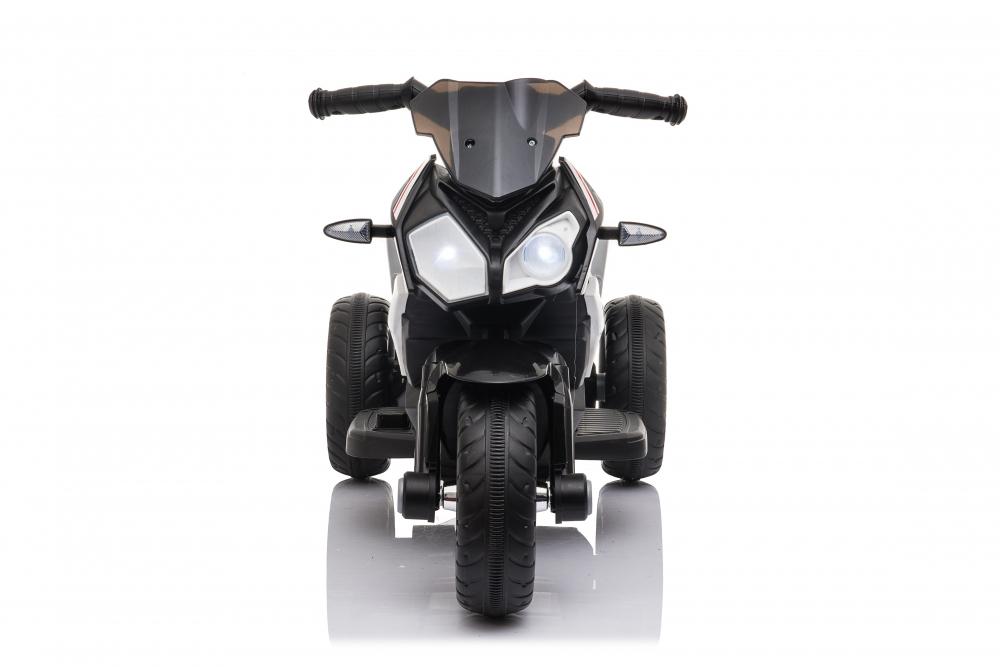 Motocicleta electrica cu roti din cauciuc EVA Nichiduta Champ Black - 1