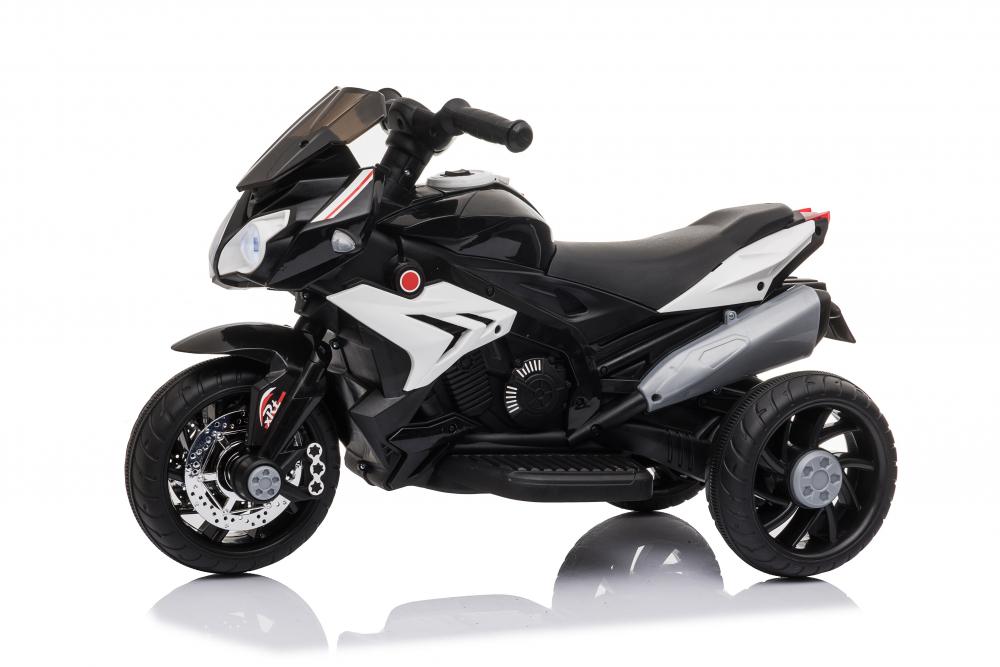Motocicleta electrica cu roti din cauciuc EVA Nichiduta Champ Black - 2