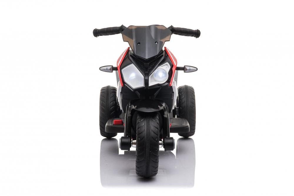Motocicleta electrica cu roti din cauciuc EVA Nichiduta Champ Black - 5