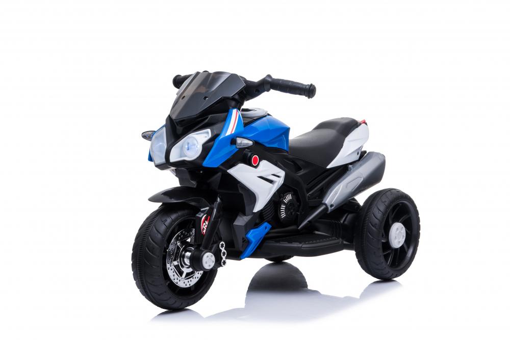 Motocicleta electrica cu roti din cauciuc EVA Nichiduta Champ Blue