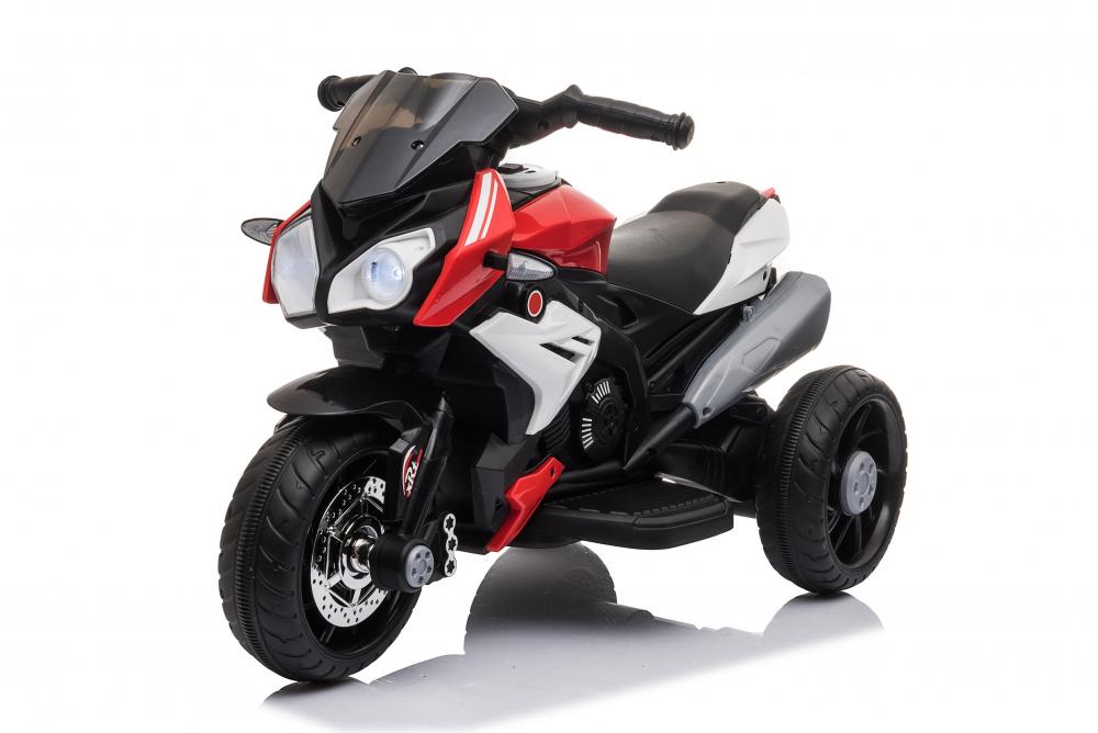 Motocicleta electrica cu roti din cauciuc EVA Nichiduta Champ Red