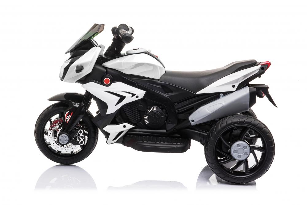 Motocicleta electrica cu roti din cauciuc EVA Nichiduta Champ White - 3