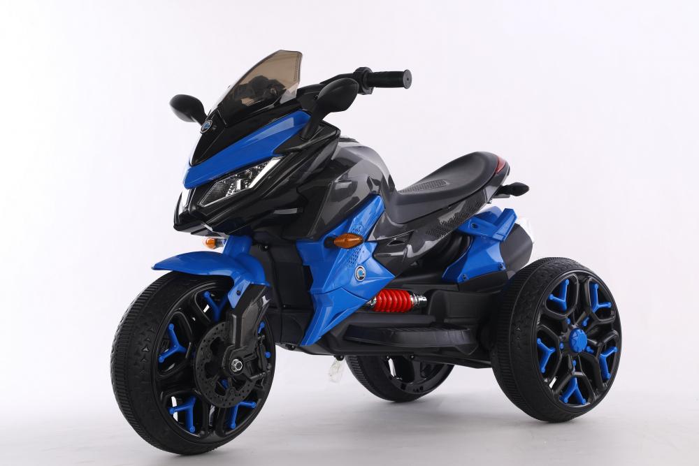 Motocicleta electrica cu scaun din piele Nichiduta Race Blue