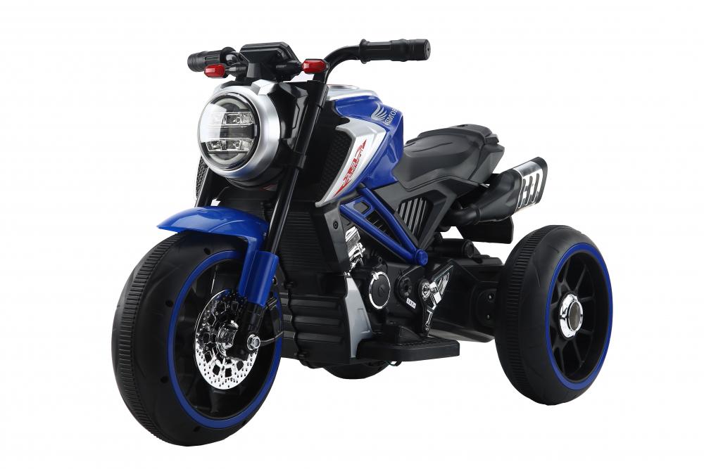 Motocicleta electrica cu scaun din piele Nichiduta Steel Blue - 5
