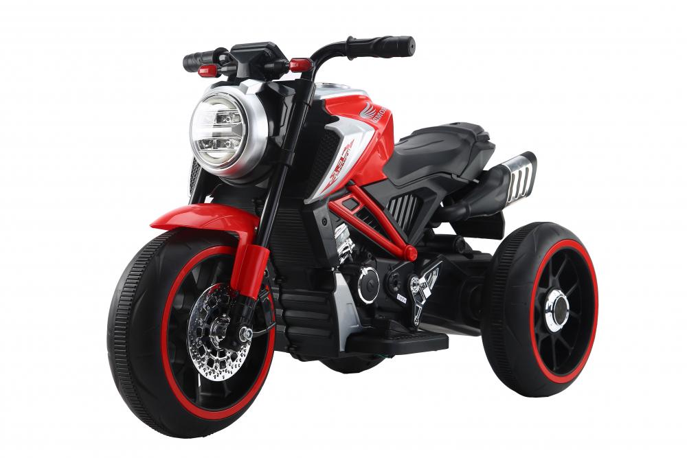 Motocicleta electrica cu scaun din piele Nichiduta Steel Red - 8