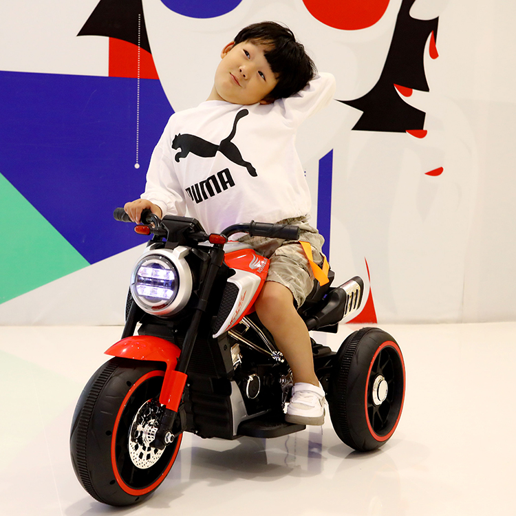 Motocicleta electrica cu scaun din piele Nichiduta Steel Red - 1