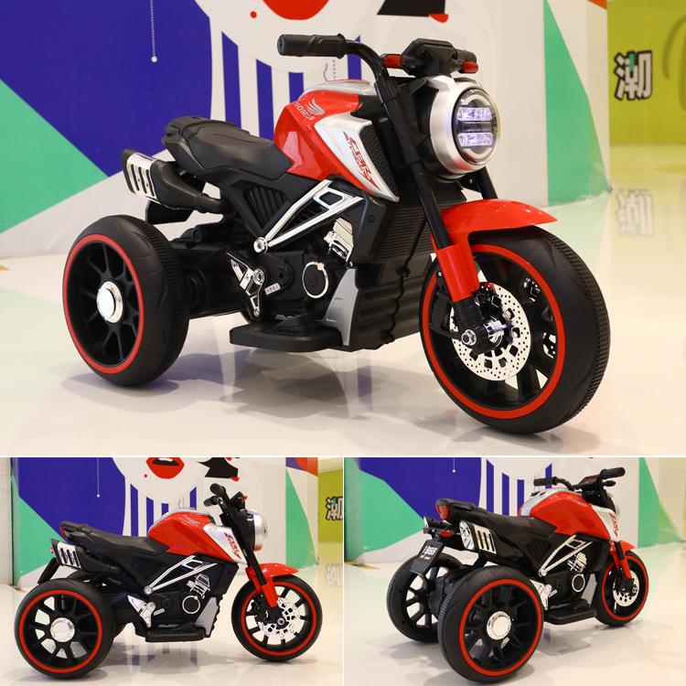 Motocicleta electrica cu scaun din piele Nichiduta Steel Red - 3
