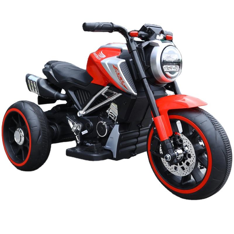 Motocicleta electrica cu scaun din piele Nichiduta Steel Red - 4