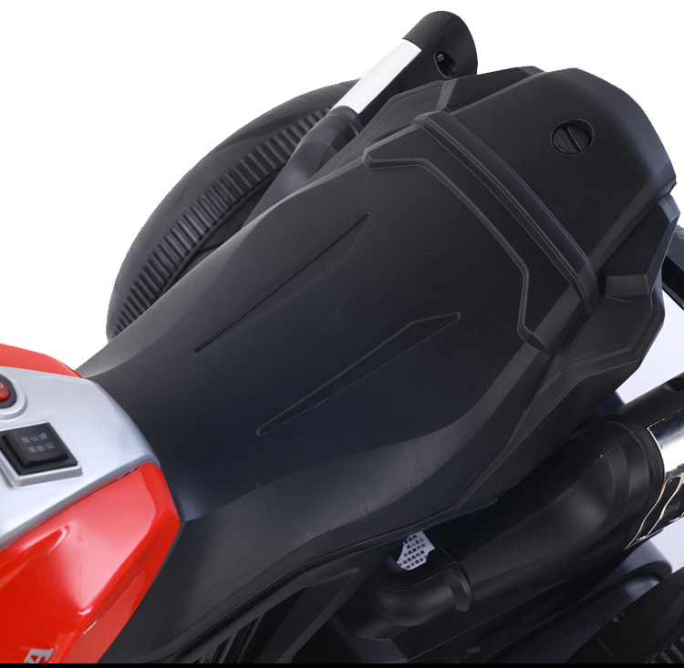 Motocicleta electrica cu scaun din piele Nichiduta Steel White - 2
