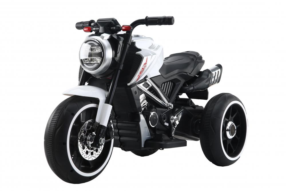 Motocicleta electrica cu scaun din piele Nichiduta Steel White - 5