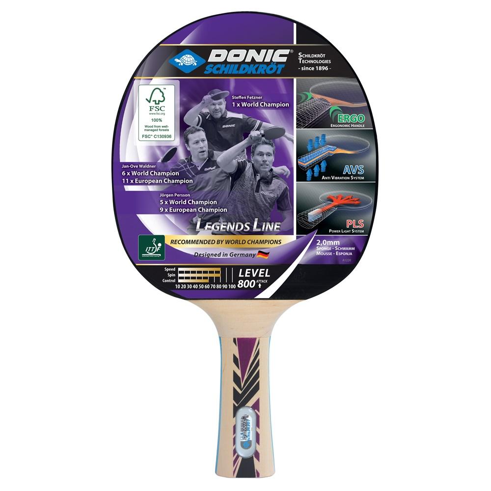 Paleta tenis de masa Donic Legends 800 FSC