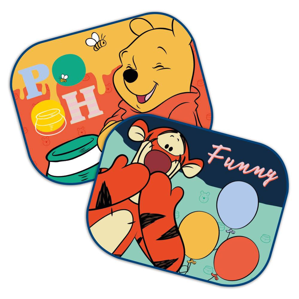 Seven Parasolar auto Disney Funny Winnie 2 bucset