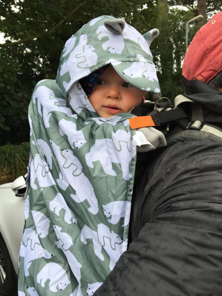 Protectie universala de iarna pentru sisteme purtare copii Polar