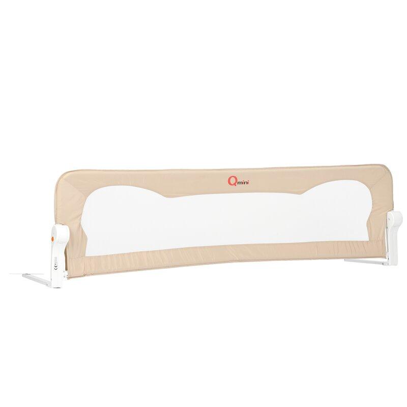Bariera de pat 150 x 42 cm Rhea Beige Qmini