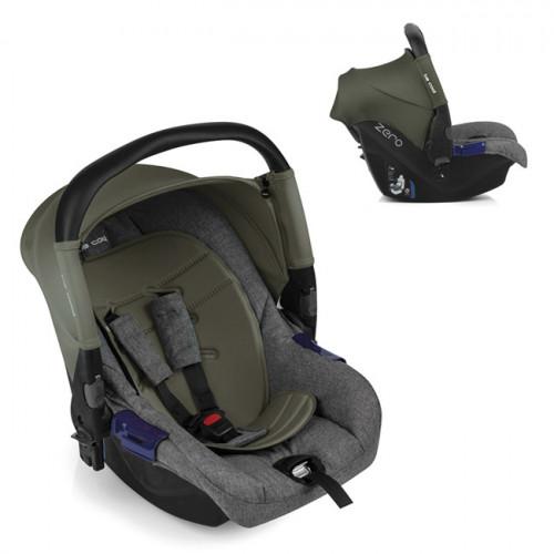 Scaun auto pentru bebelusi Zero + Kakhi