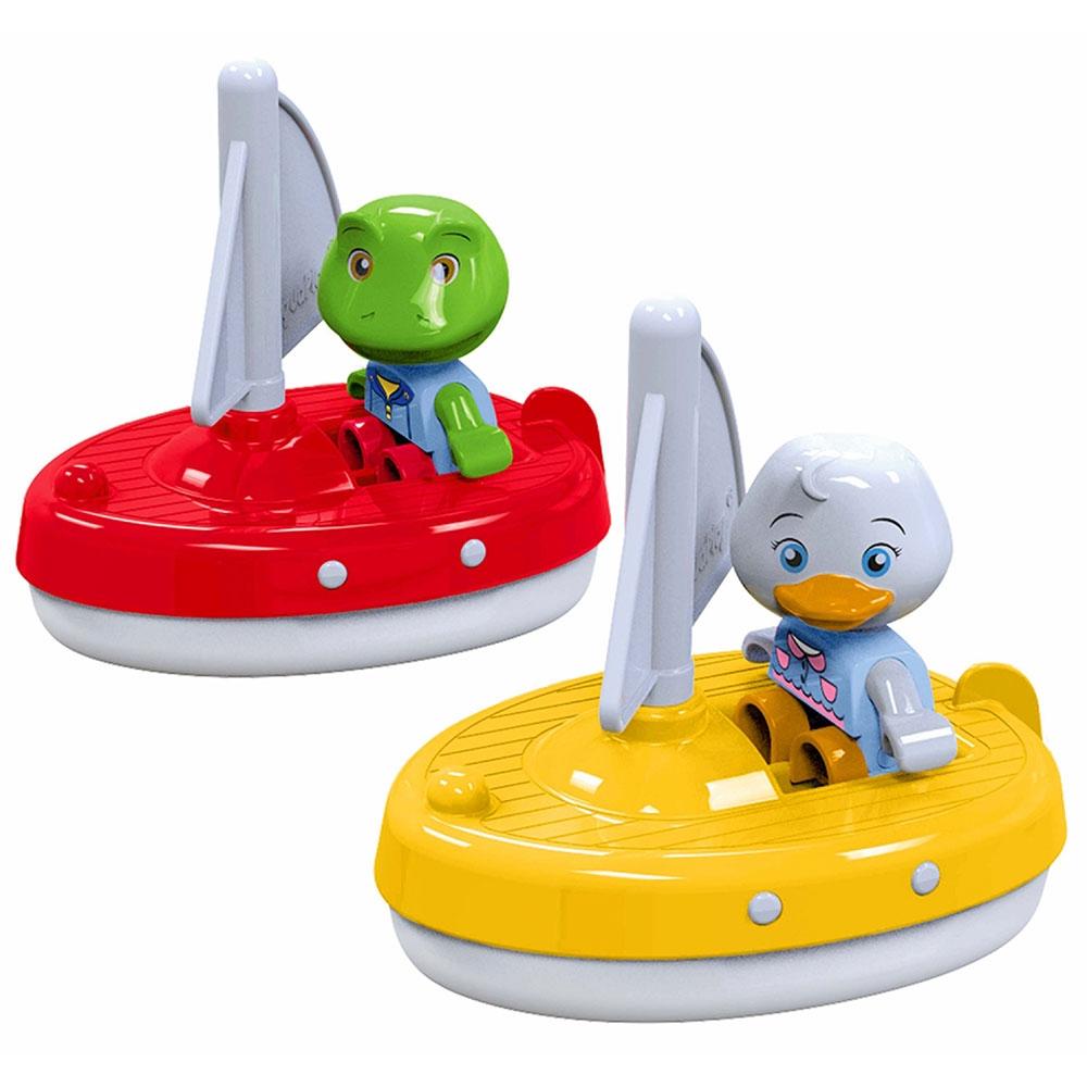Set AquaPlay 2 barci cu panza si 2 figurine - 1
