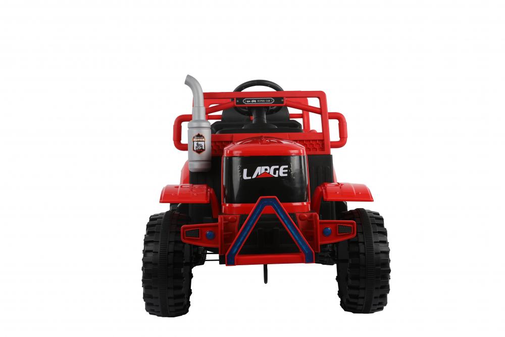 Tractor electric cu remorca si telecomanda Nichiduta Country Red
