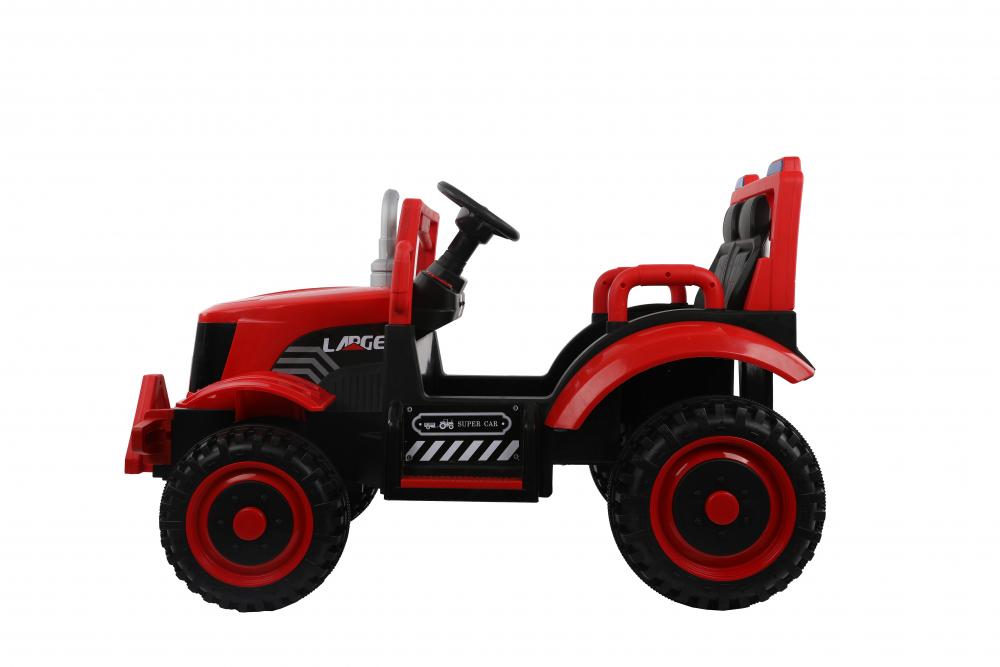 Tractor electric cu remorca si telecomanda Nichiduta Country Red - 6