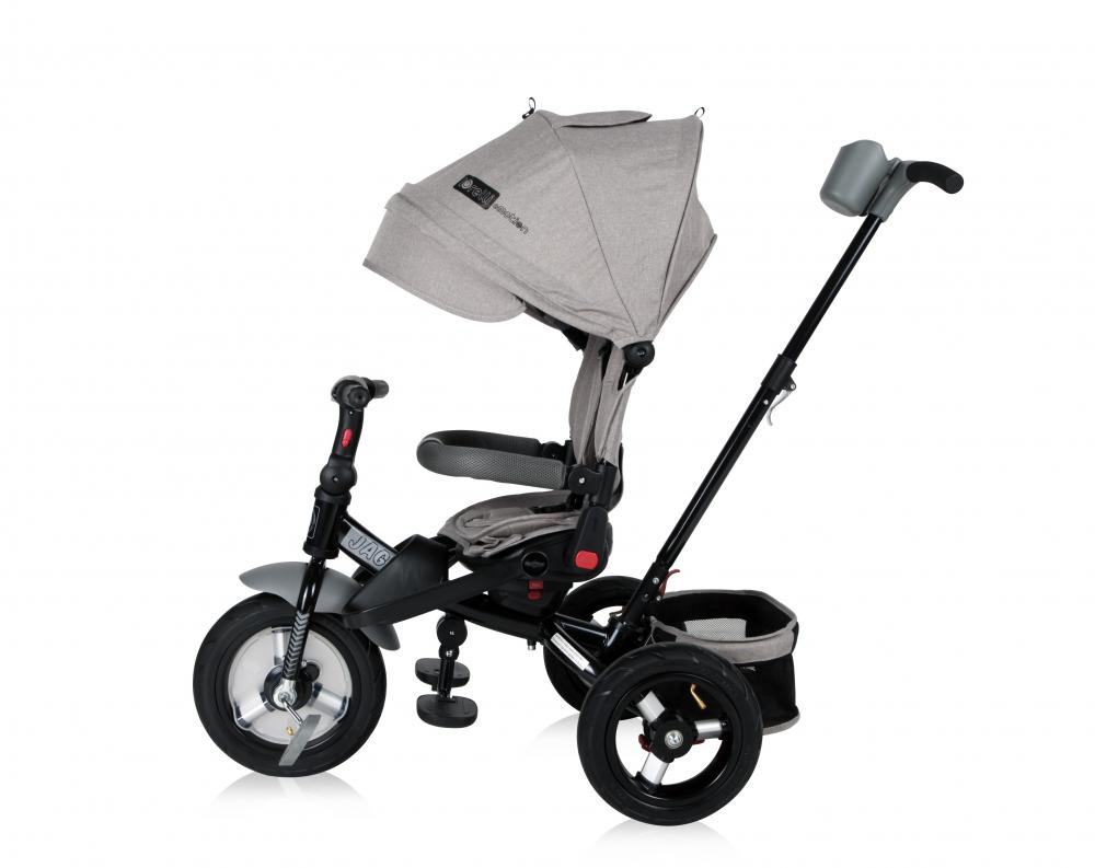 Tricicleta Jaguar Air Wheels Grey Luxe