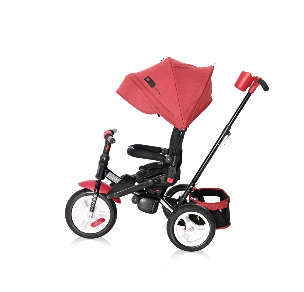 Tricicleta Jaguar Air Wheels Red Black