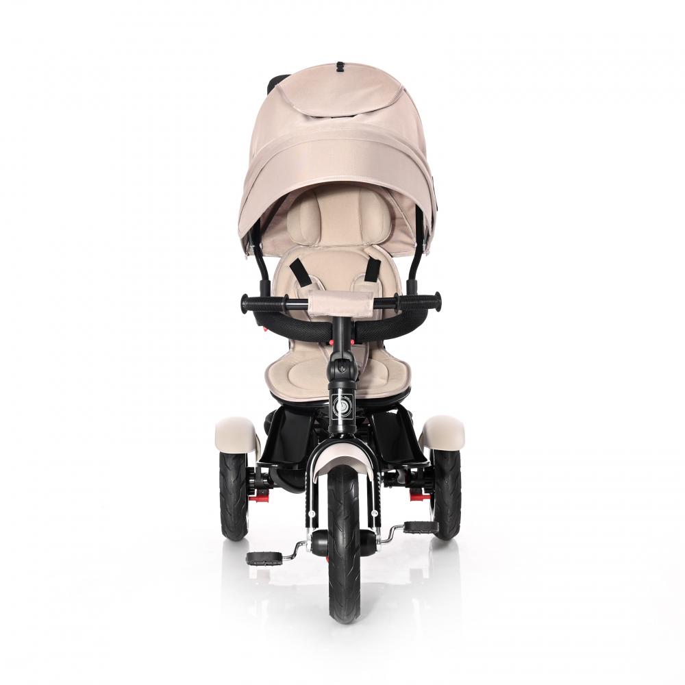 Tricicleta Multifunctionala 4 In 1 Neo Air Roti Mari Cu Camera Ivory