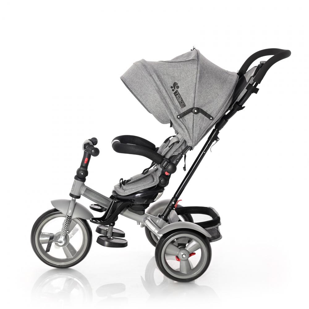 Tricicleta multifunctionala 4 in 1 Neo Grey Luxe