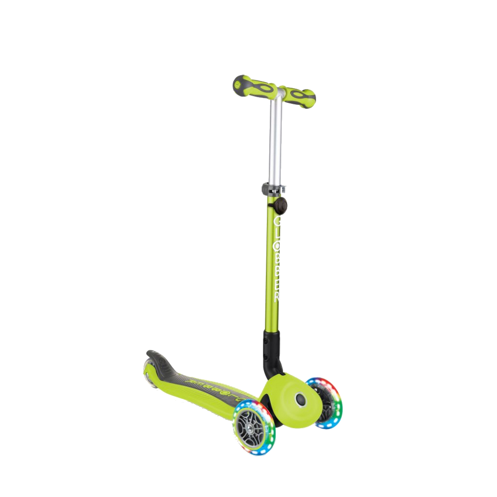 Globber Trotineta Globber Go-Up 4 in 1 Deluxe Lights Verde