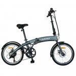 Bicicleta Electrica E-BIKE pliabila roti 20 inch Carpat CSC10/05E gri/alb