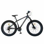 Bicicleta MTB-Fat Bike Shimano Revoshift Tourney 21 viteze 26 inch CSV26/19B negru/albastru