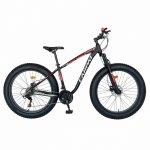 Bicicleta MTB-Fat Bike Shimano SL-TX30 26 inch Carpat Aventus CSC26/00H negru/gri/rosu
