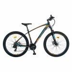 Bicicleta MTB-HT Shimano Tourney TY-300 27.5 inchCarpat CSC27/57C negru/portocaliu