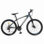 Bicicleta MTB-Ht Shimano Tourney TZ500D 26 inch Carpat CSC26/58C negru cu design albastru/alb