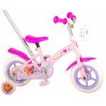 Bicicleta copii Volare Paw Patrol 10 inch cu maner parental si roti ajutatoare