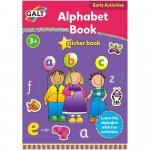 Carte cu activitati si abtibilduri Alfabet