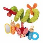 Jucarie interactiva pentru bebelusi Fluture