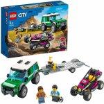 Lego City transportor de automobile de curse