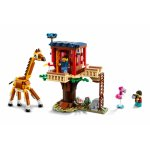 Lego Creator casuta in copac cu animale salbatice
