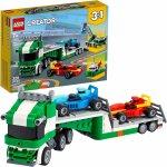 Lego Creator transportor de masini de curse