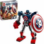 Lego Super Heroes armura de robot Capitanul America