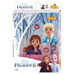 Margele de calcat Hama Midi Frozen 2 2000 buc margele cu 1 plansete in cutie de cadou cu agatator