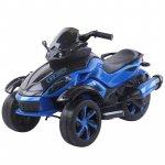 Motocicleta electrica cu lumini Nichiduta Gallop Blue