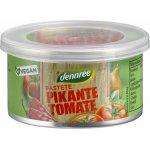 Pasta vegana cu rosii picant bio 125g Dennree